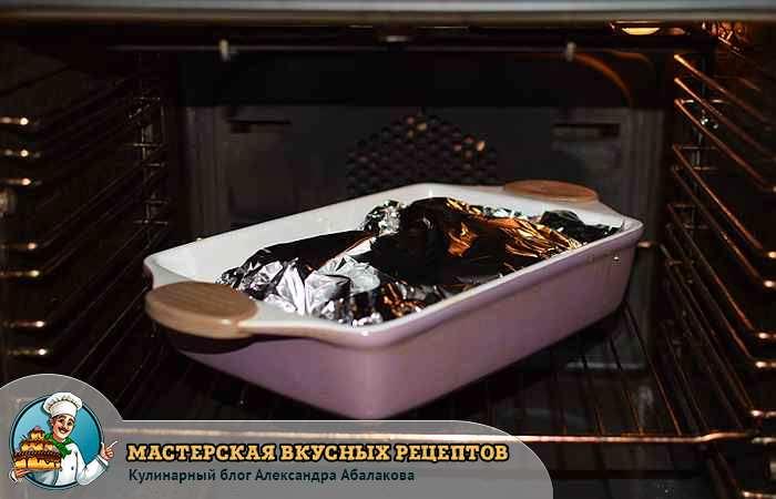 рыба в фольге в духовом шкафу
