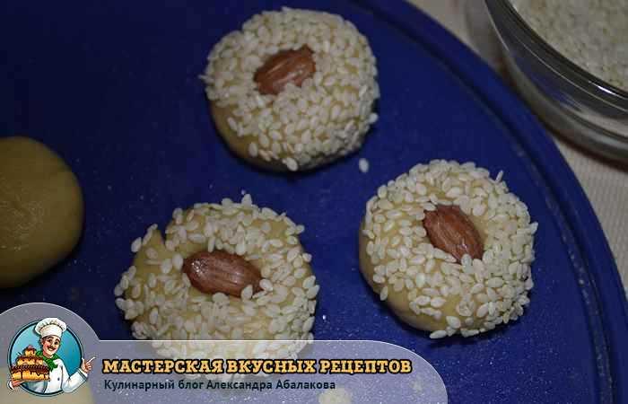 подготовленные к запеканию печенья