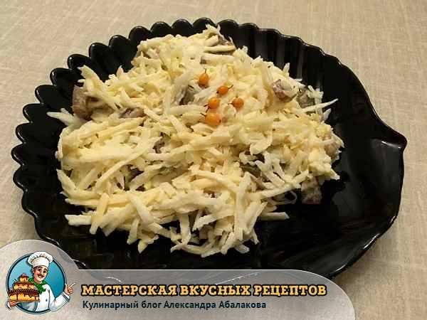овощной салат из помидоров белой редьки и сыра