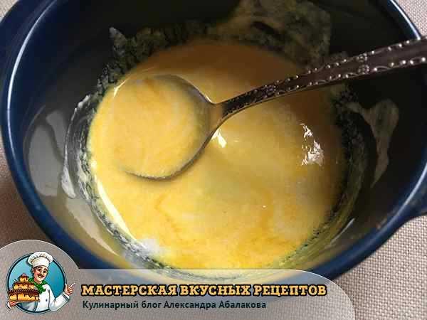 заправка из йогурта для салата