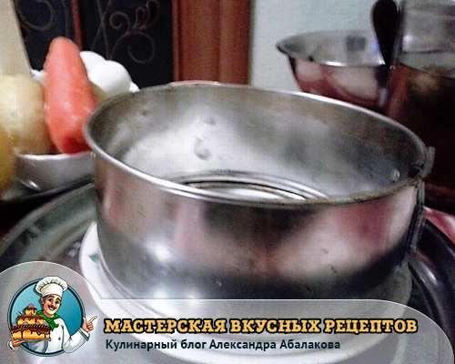 кулинарное кольцо для сборки салатов