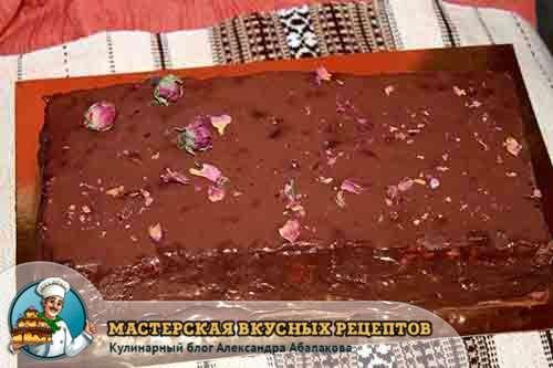 торт приготовленный без запекания