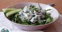 Нежный салат с авокадо и рукколой— совмещаем превосходный вкус и пользу
