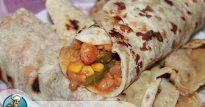 Рецепт бурито с курицей и фасолью— мексиканский колорит в придачу