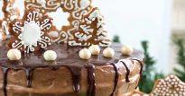 Торт Ферреро Роше— бисквит в шоколаде с орехово-вафельной начинкой