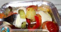Овощи под сыром, запеченные в духовке— рецепт ПП