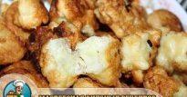 Вкусная цветная капуста в кляре— обжаренная на сковородке