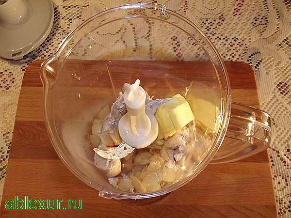 Блины фаршированные курицей и сыром - рецепт пошаговый с фото