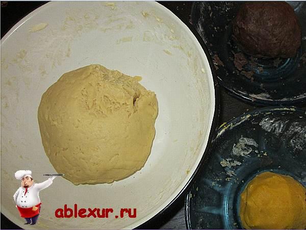 """Песочное печенье """"Ассорти"""" – кулинарный рецепт"""