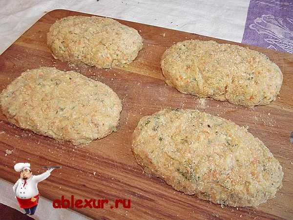 Котлетки из кальмара – кулинарный рецепт