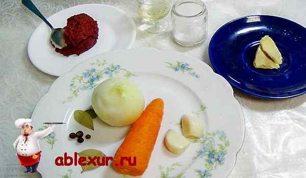 продукты для чтобы приготовить соус для голубцов