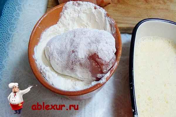 Котлета по-киевски из бедрышка – кулинарный рецепт