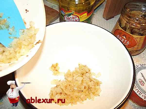 Закуска из сельди