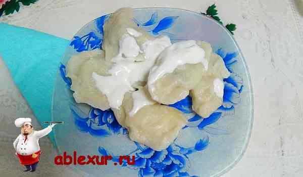 Ассорти из вареников, пошаговый рецепт с фото