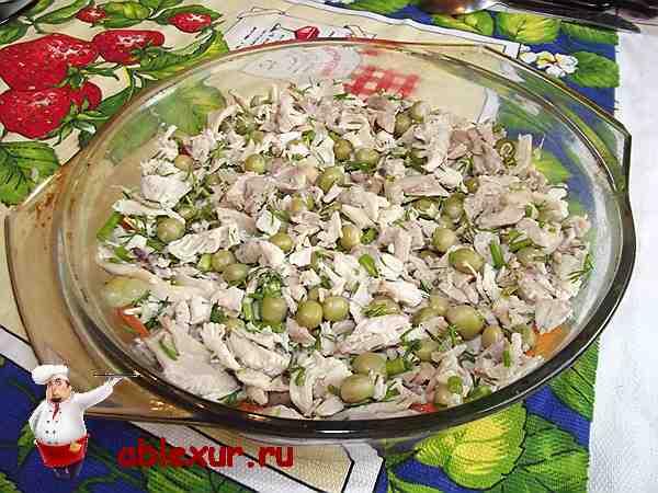 Заливное из курицы и пасты, пошаговый рецепт с фото