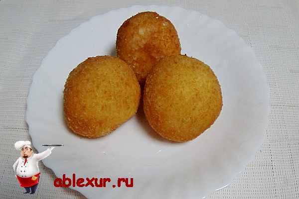 творожные пончики жаренные во фритюре