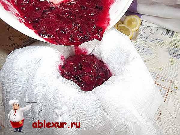 Клюквенный морс , пошаговый рецепт с фото