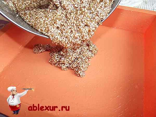 Воздушные козинаки – кулинарный рецепт