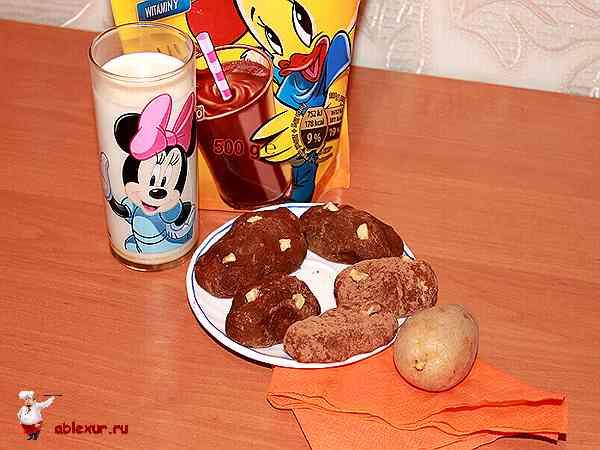 пирожное картошка приготовленное в домашних условиях