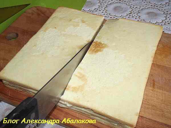 бисквит со сгущенкой вкусный рецепт