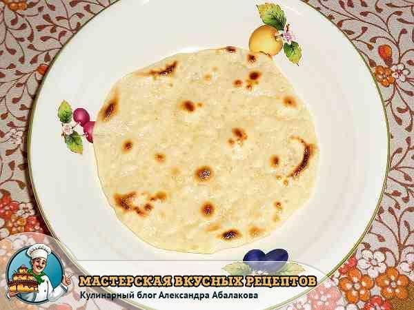 Кыстыбый с картошкой по-татарски - рецепт пошаговый с фото
