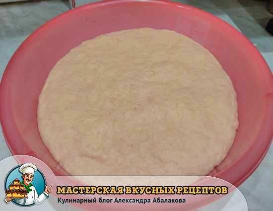 тесто для булочек с заварным кремом