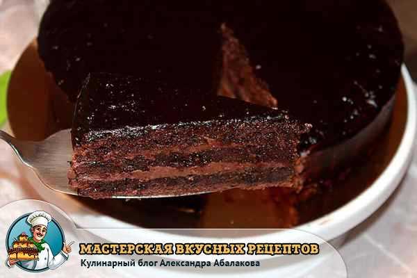 рецепт на празский торт