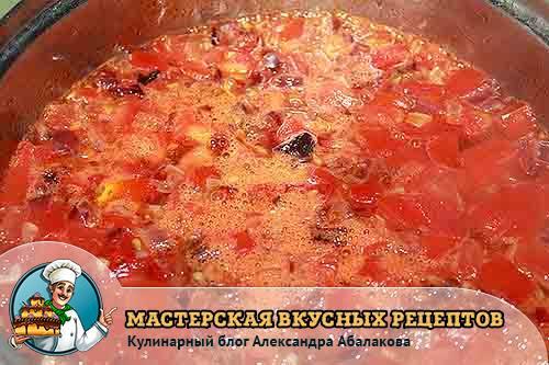варится мексиканское первое блюдо