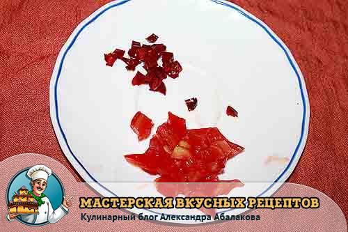 чили и томаты